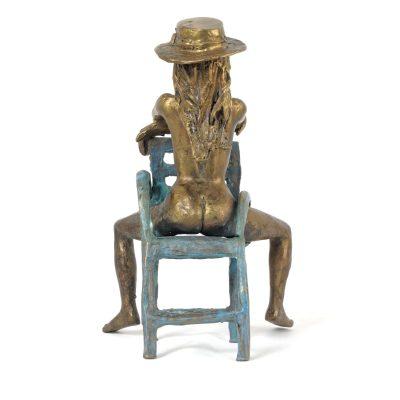 Sabina, sculpture en bronze (20x15x13cm)