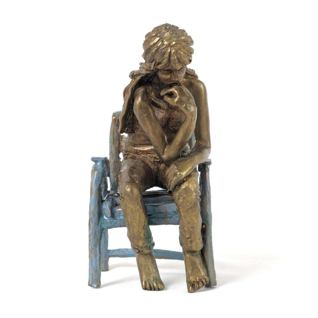 Sculpture La penseuse