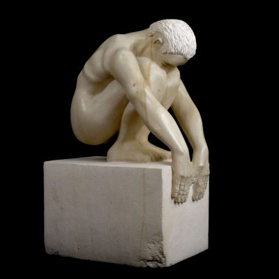 Starting Block Sculpture Calcaire Crazanne 07 1