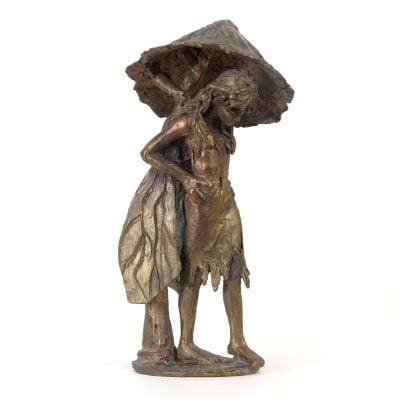 La Fee Au Champignon Bronze 08