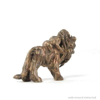 Amitié, sculpture en bronze (4x6x3cm)